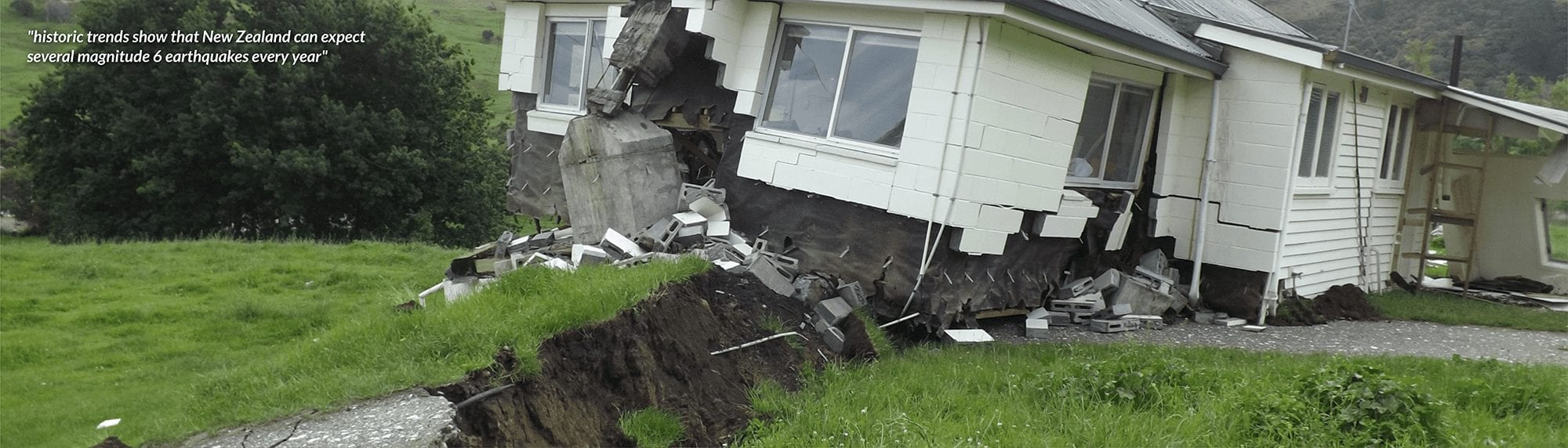 historic trends show that New Zealand can expect several magnitude 6 earthquakes every year