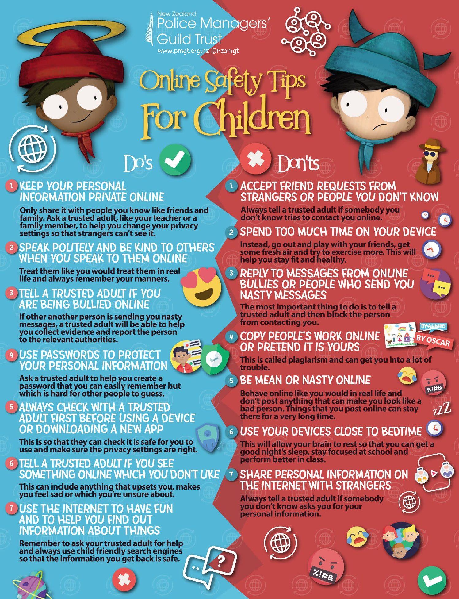 Online Safety Tips for Children